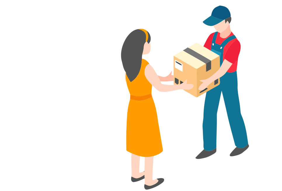 Ecommerce order delivery